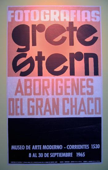 """""""Ausstellungsplakat 1965 Grete Stern"""", Foto © Friedhelm Denkeler 2010"""