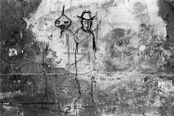 """""""Graffito"""", Foto © Friedhelm Denkeler 1979"""