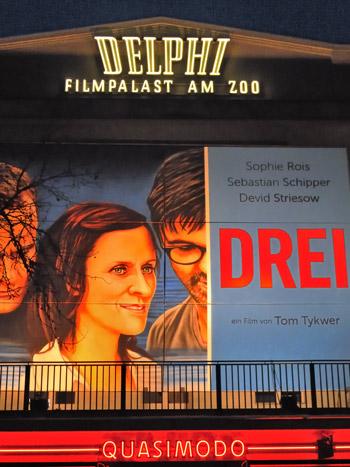 """""""Delphi Filmpalast mit 'Drei' von Tom Tykwer"""", Foto © Friedhelm Denkeler 2011"""