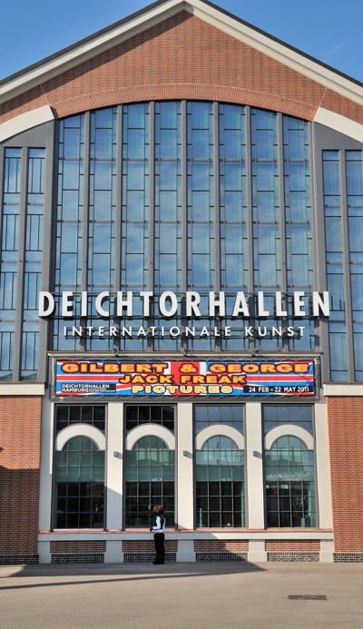 """""""Gilbert & George in der Deichtorhalle"""", Foto © Friedhelm Denkeler 2011"""