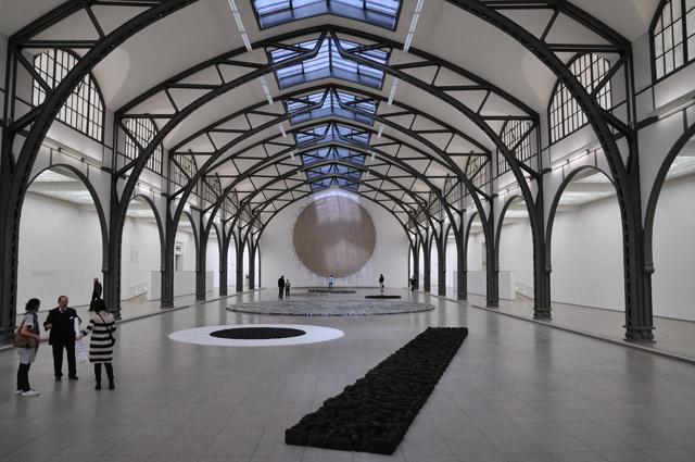 """Richard Longs Berlin-Circle"", Foto © Friedhelm Denkeler 2011"