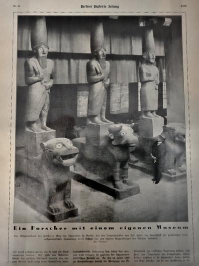 """""""Berliner Illustrirte Zeitung vom 17.08.1930 mit einem Foto von Martin Munkacsi"""", Foto © Friedhelm Denkeler 2011"""