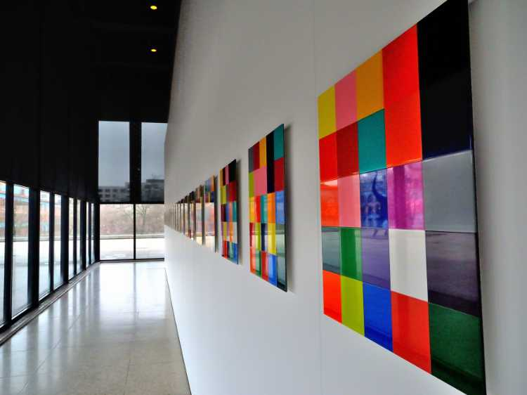 »Gerhard Richter in der Neuen Nationalgalerie«, Kulturforum, Berlin, Foto © Friedhelm Denkeler 2012