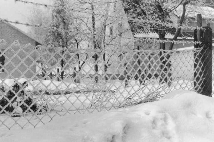 »Winteridylle in Westfalen«, Foto © Friedhelm Denkeler 1963