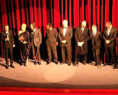 """""""Billy Bob Thornton mit seinem Film-Team im Berlinale Palast"""", Foto © Friedhelm Denkeler 2012"""
