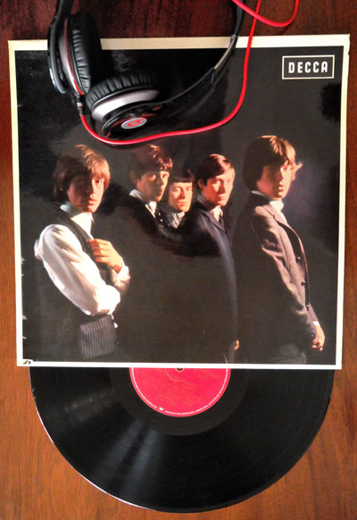"""Das erste Rolling Stones-Album"", 1964, Foto © Friedhelm Denkeler 2012"