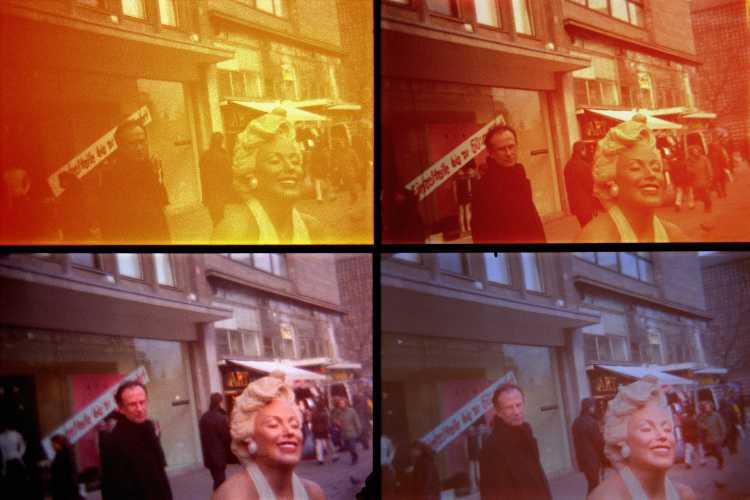 »My Day With Marilyn«, aus »Quadrotura – Lomographien«, Foto © Friedhelm Denkeler 2000