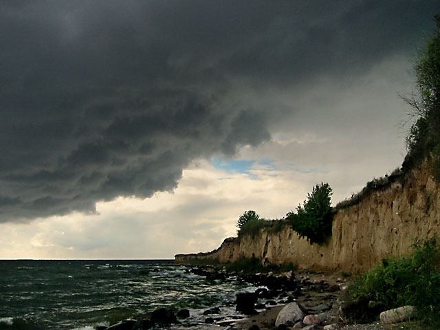 """Vor dem großen Sturm"", Foto © Friedhelm Denkeler 2004"
