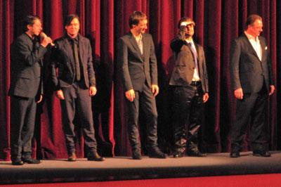 """""""Thomas Arslan und seine Hauptdarsteller"""",  Foto © Friedhelm Denkeler  2013"""