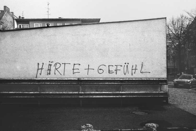 »Gefühl und Härte«, Foto © Friedhelm Denkeler 1981