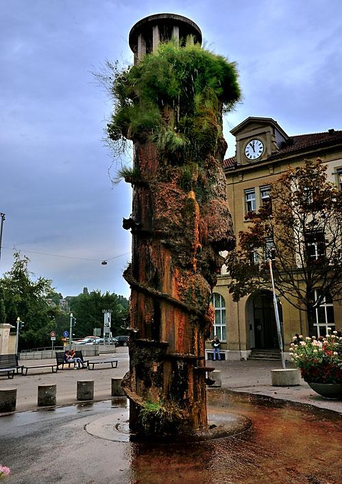 """""""ppenheimbrunnen in Bern"""" (Waisenhausplatz)"""", Foto © Friedhelm Denkeler 2010"""