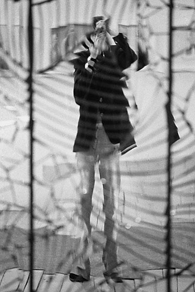 """Aus """"Selbst: Schatten und Spiegel"""", Foto © Friedhelm Denkeler 1976"""