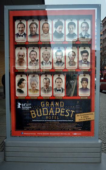 """""""Grand Budapest Hotel"""", Foto © Friedhelm Denkeler 2014"""