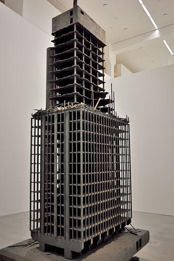 """""""Windsor Tower"""", Markus Draper, 2007, Foto © Friedhelm Denkeler 2014"""