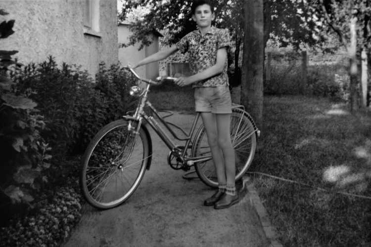 »Selbst mit Fahrrad«, Juni 1960, Archiv © Friedhelm Denkeler