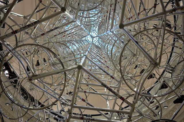 """""""Ai Weiwei im Martin-Gropius-Bau, 'Very Yao', 2009"""", Foto © Friedhelm Denkeler 2014"""