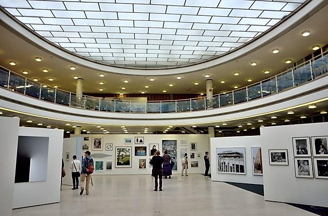 """Die Bielefelder Schule. Fotografie im Kontext"" (Alte Stadtbibliothek Bielefeld), Foto © Friedhelm Denkeler 2014"