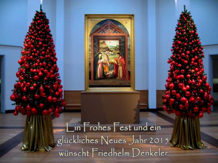 »Weihnachten 2014«, Foto & Grafik © Friedhelm Denkeler 2014