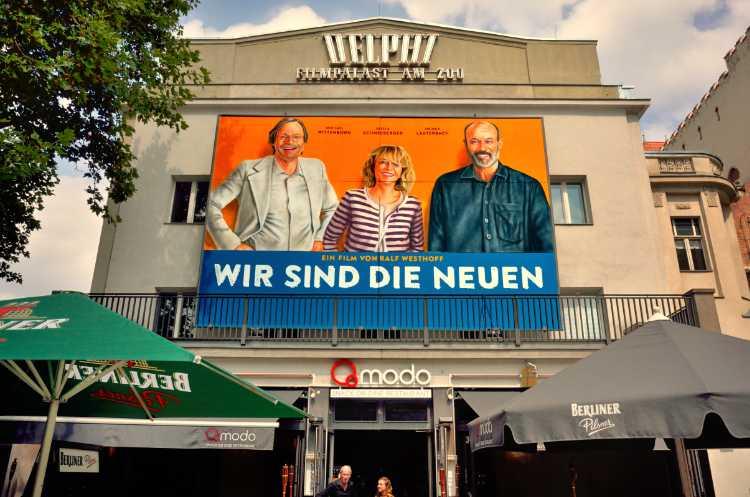 »Wir sind die Neuen« im Delphi-Filmpalast, Berlin, Foto © Friedhelm Denkeler 2014