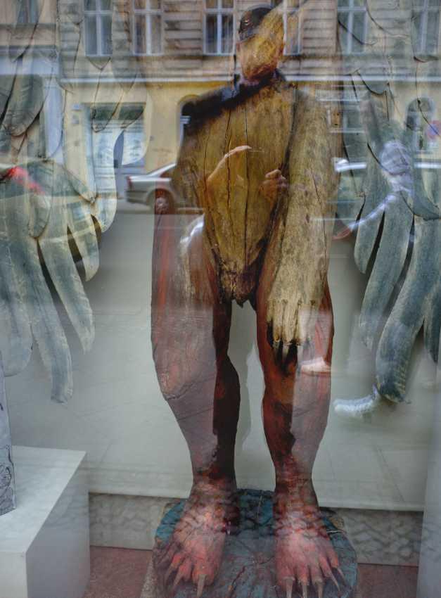 »homo homini lupus«, Foto © Friedhelm Denkeler 2015