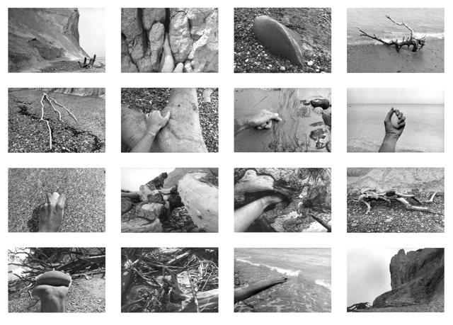 """16 Photos aus der Serie """"Møns Klint"""", Fotos © Friedhelm Denkeler 1983"""