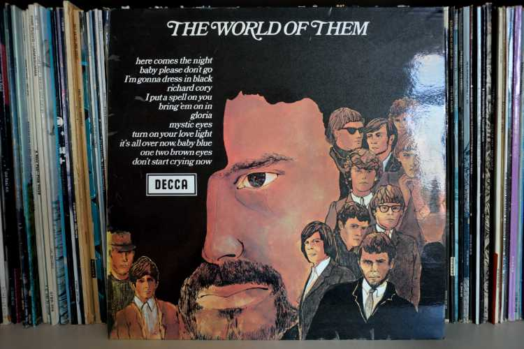 Cover der LP »The World Of Them«, 1972, Foto © Friedhelm Denkeler 2015