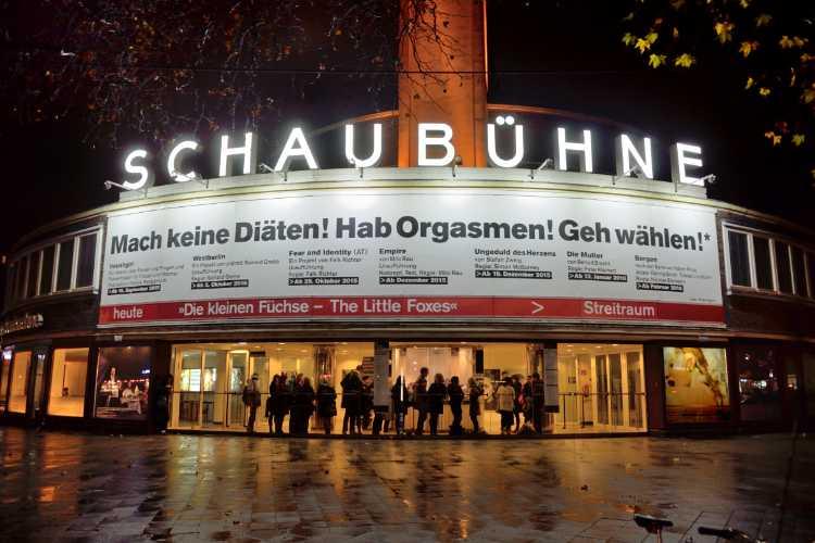 Neulich am Lehniner Platz: »The Little Foxes«, Schaubühner am Lehniner Platz, Berlin-Charlottenburg, Foto © Friedhelm Denkeler 2015