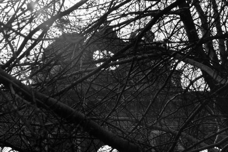 »Die Ruine – Hier begann alles», Anhalter-Bahnhof, Berlin, aus dem Portfolio »Kriminaltango«, Foto © Friedhelm Denkeler 1976