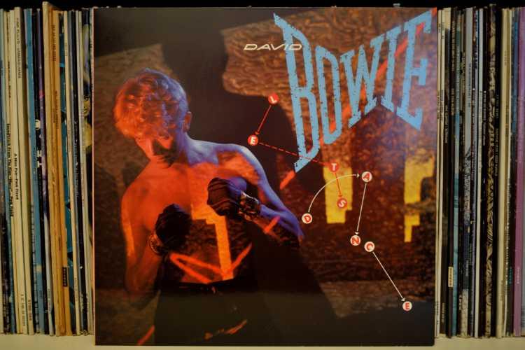 David Bowie: »Let's Dance«, 14.04.1983, Cocer des Albums, Foto © Friedhelm Denkeler 1983