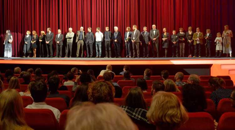 Das Filmteam von »24 Wochen«, Berlinale 2016, Foto © Friedhelm Denkeler 2016