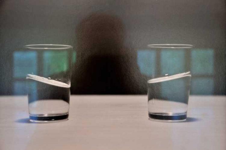 »Selbst mit schiefem Wasser«, Ausstellung »Unscharf. Nach Gerhard Richter«, Hamburger Kunsthalle, Hamburg, Foto © Friedhelm Denkeler 2011