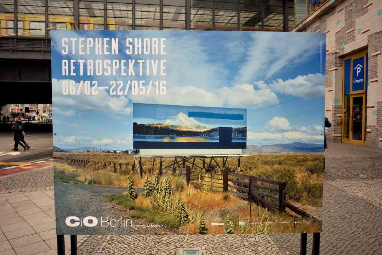 »Ausstellung Stephan Shore bei C/O Berlin, Foto © Friedhelm Denkeler 2016