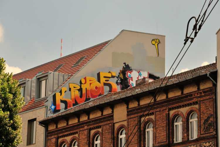 »Stadtverschönerung am Mehringdamm« (Ecke Gneisenaustraße), Foto © Friedhelm Denkeler 2013