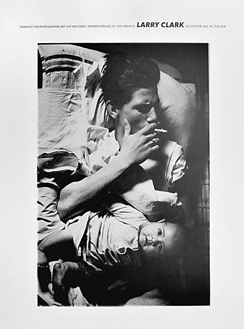 """Plakat der Werkstatt für Photographie: """"Larry Clark"""", 1981, Foto © Friedhelm Denkeler 2016"""