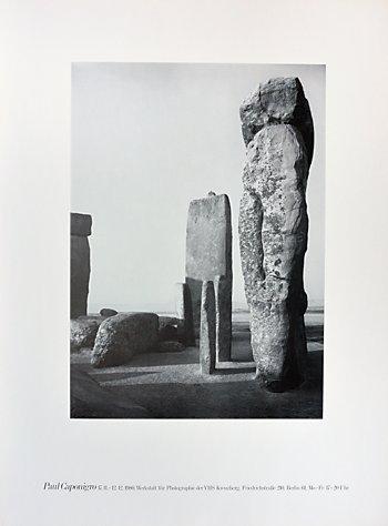 """Plakat der Werkstatt für Photographie: """"Paul Caponigro"""", 1980, Foto © Friedhelm Denkeler 2016"""