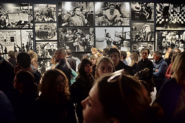 "Eröffnung ""William Klein – Photographs & Films"", C/O Berlin, 28. April 2017, Foto © Friedhelm Denkeler 2017"