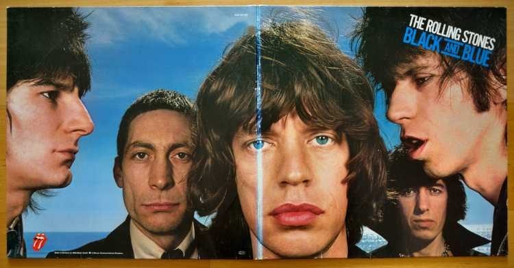 The Rolling Stones: »Black And Blue«, Erscheinungsdatum: 20. April 1976, Foto © Friedhelm Denkeler 2017