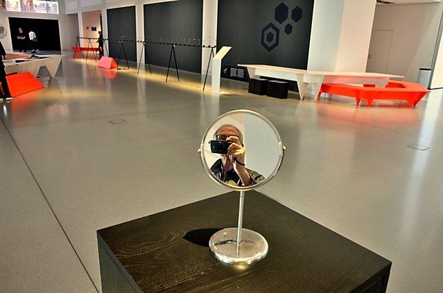 """Nonfacial Mirror"", Shinseungback Kinyonghun (KOR), Drive (VW Forum), ""Ars Electronica"", Foto © Friedhelm Denkeler 2017"