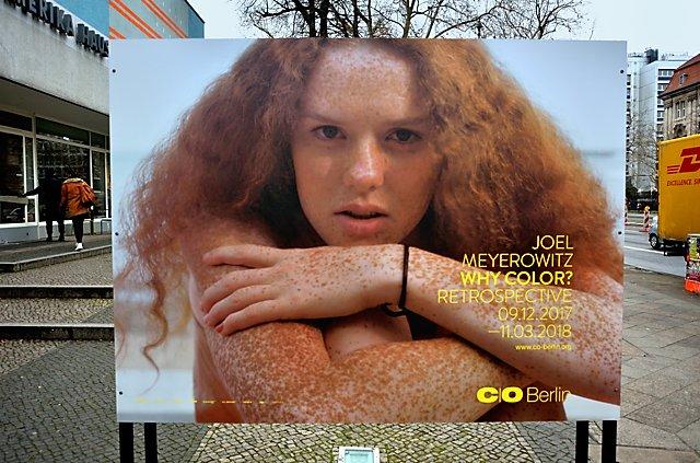 "Ausstellung Joel Meyerrowitz: ""Why Color?"" bei C/O Berlin, Foto © Friedhelm Denkeler 2017"