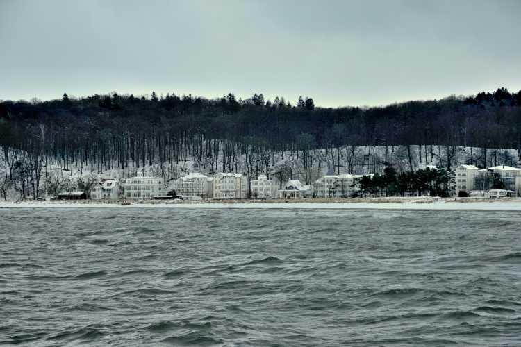»Winter in Binz auf Rügen«, Foto © Friedhelm Denkeler 2010