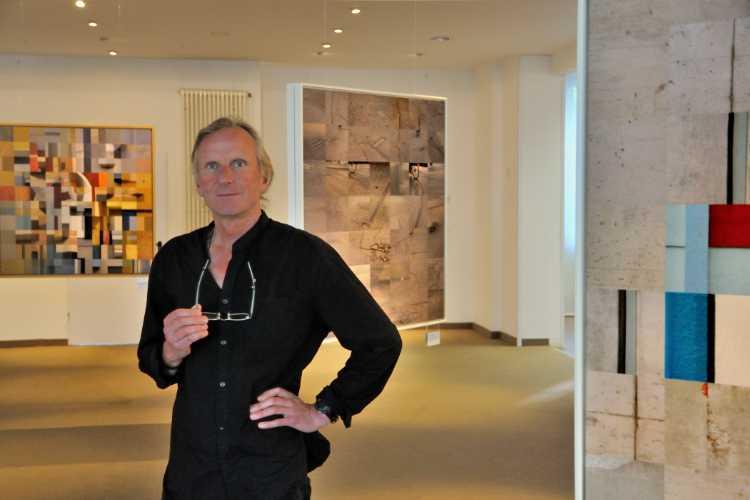 Horst Hinder: »Fotografische Collagen«, Ausstellung »momenta« im Roxy-Palast Berlin-Friedenau, Foto © Friedhelm Denkeler 2018