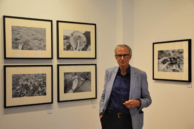 Friedhelm Denkeler: »Sommer in einer Hand«, Ausstellung »momenta« im Roxy-Palast Berlin-Friedenau, Foto © Friedhelm Denkeler 2018