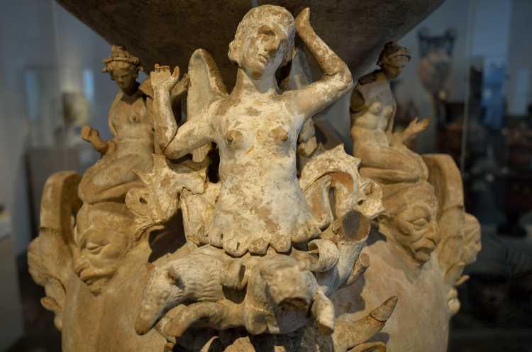 »Daunisches Prunkgefäß«, Canosa, Italien, um 300 v.Chr., Foto © Friedhelm Denkeler 2018