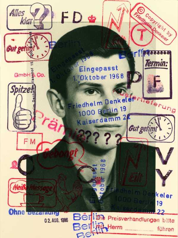 »Eingepasst – 1. Oktober 1968«, aus dem Portfolio »Eingepasst«, © Friedhelm Denkeler