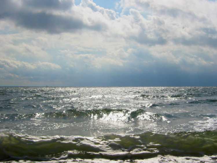 »Die Ostsee bei Klein-Zickau«, Rügen, Foto © Friedhelm Denkeler 2004
