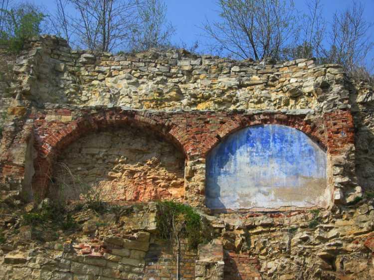 «Alte Mauer im Kalkbergwerk Rüdersdorf«, aus dem Portfolio »Sonntagsbilder«, Foto © Friedhelm Denkeler 2003