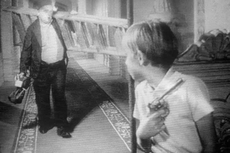 »Feigen«, aus dem Portfolio »Episoden«, Film »Das Schweigen« (1963) von Ingmar Bergman, Foto © Friedhelm Denkeler 1989