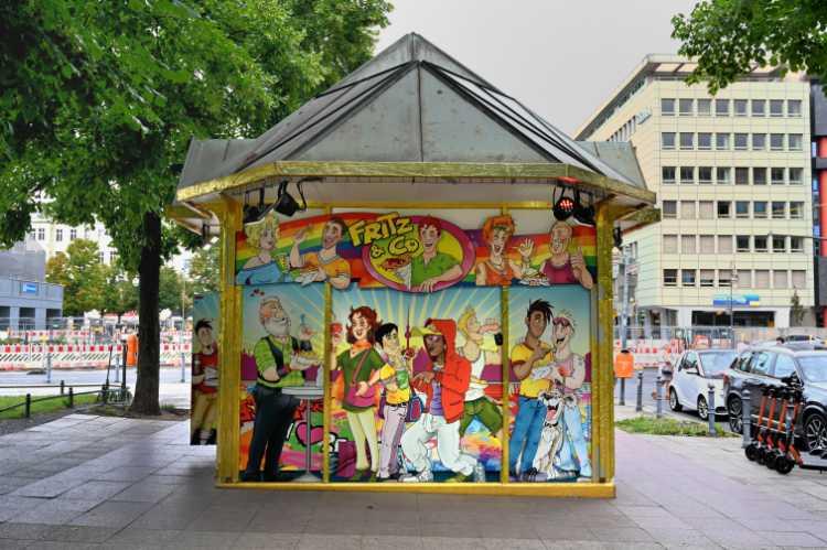 »Fritz & Co.«, Wittenbergplatz, Berlin, Foto © Friedhelm Denkeler 2019