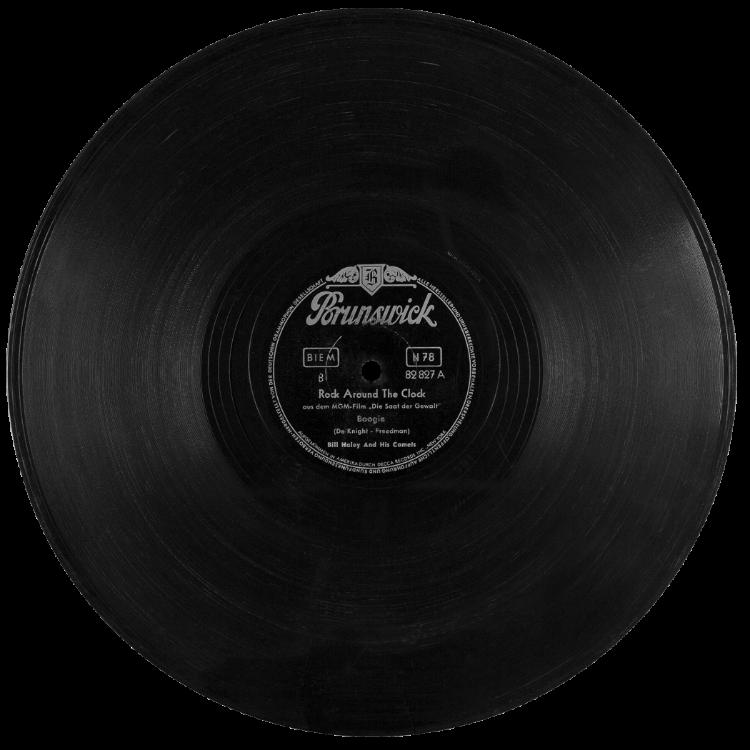 Schellackplatte, Bill Haley & His Comets: »Rock Around The Clock«, 1955