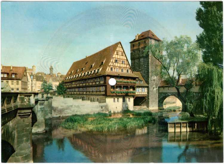 Schallbildkarte aus Nürnberg mit Paul Anka: »Diana«, Foto © Friedhelm Denkeler 2020